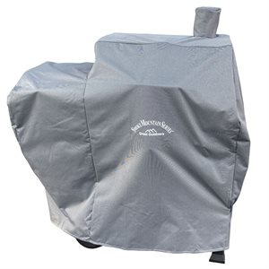 Landmann Vista Grill w / Offset Smoker Cover - Grey