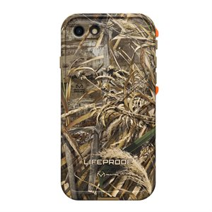 LifeProof FRÉ Case for iPhone 8 / 7, RealTree Max5 Orange