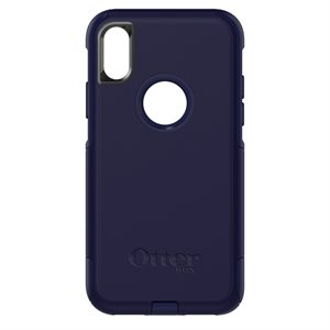 OtterBox Commuter Case for iPhone X / XS, Indigo Way