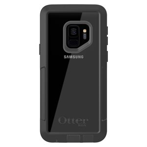 OtterBox Pursuit Case for Samsung Galaxy S9, Black / Clear