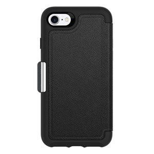 OtterBox Strada Case for iPhone SE / 8 / 7, Onyx