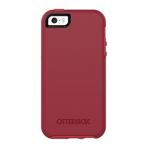 OtterBox Symmetry Case for iPhone 5s / SE, Rosso Corsa
