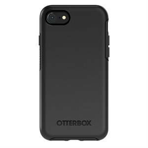 OtterBox Symmetry Case for iPhone SE / 8 / 7, Black
