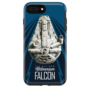OtterBox Symmetry Case for iPhone 8 / 7 Plus, Millennium Falcon