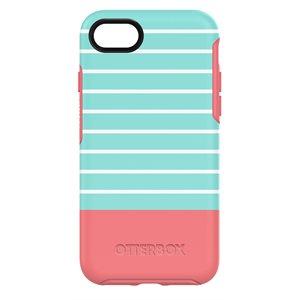 OtterBox Symmetry Case for iPhone SE / 8 / 7 - Aqua Mint Dip