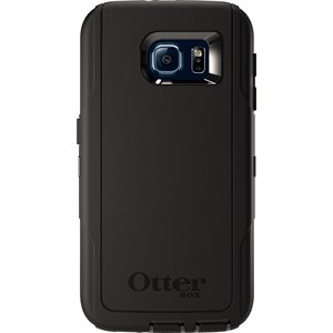 OtterBox Defender Case for Samsung Galaxy S6, Black