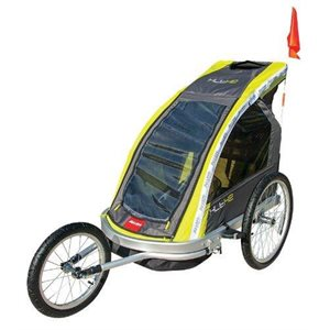 Premium Two Child Aluminum Jogger and Trailer